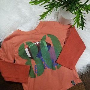 🌿5/$25 Charlie Rocket Orange Long Sleeve Shirt